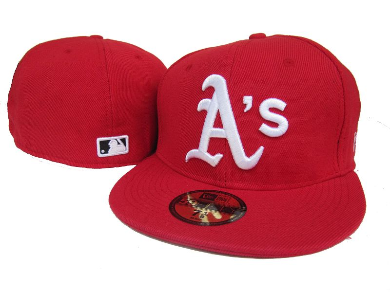 Okaland Athletics MLB Fitted Hat LX16