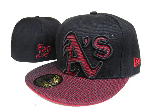 Okaland Athletics MLB Fitted Hat LX17