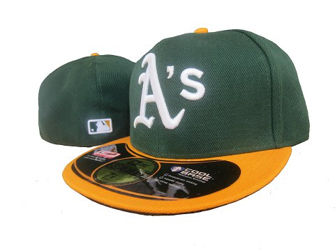 Okaland Athletics MLB Fitted Hat LX18