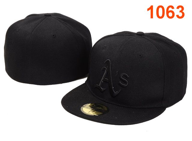 Okaland Athletics MLB Fitted Hat PT03