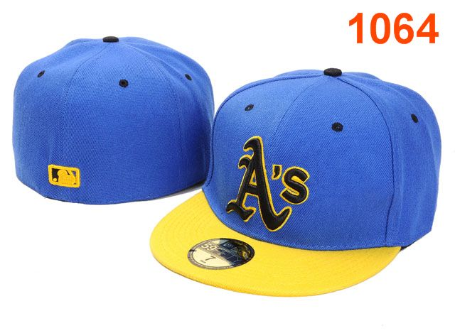 Okaland Athletics MLB Fitted Hat PT04