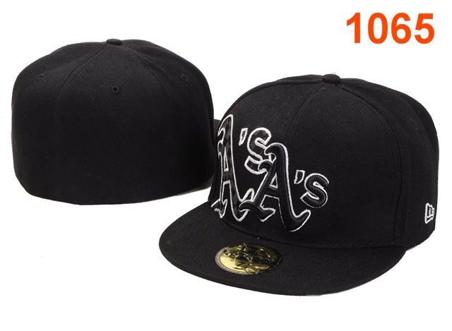 Okaland Athletics MLB Fitted Hat PT05