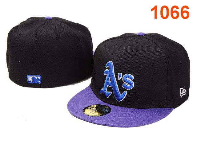 Okaland Athletics MLB Fitted Hat PT06