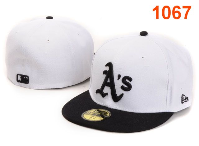 Okaland Athletics MLB Fitted Hat PT07