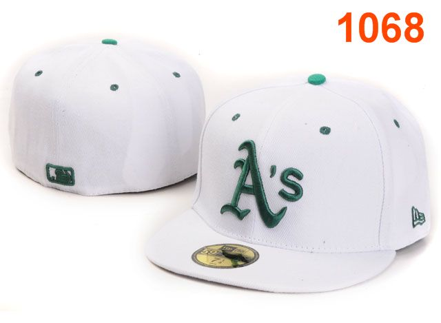 Okaland Athletics MLB Fitted Hat PT08