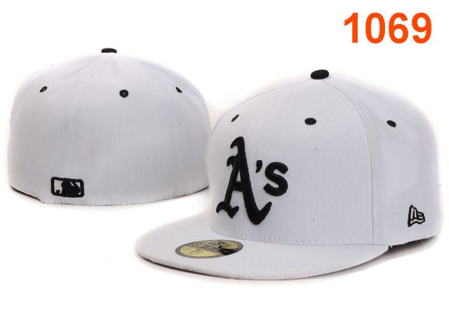 Okaland Athletics MLB Fitted Hat PT09