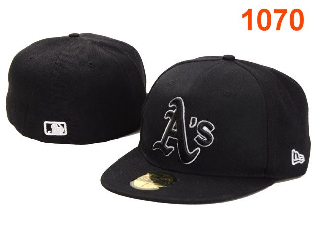 Okaland Athletics MLB Fitted Hat PT10
