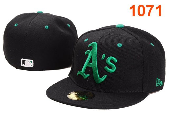 Okaland Athletics MLB Fitted Hat PT11