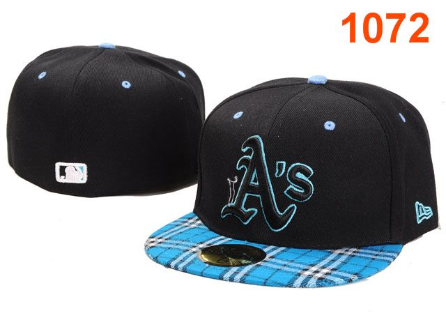 Okaland Athletics MLB Fitted Hat PT12