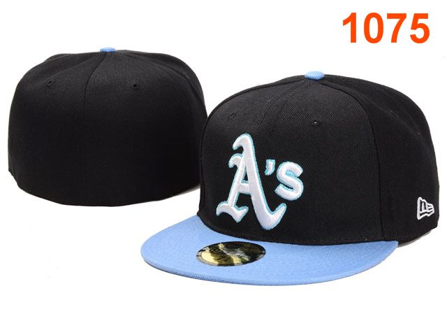 Okaland Athletics MLB Fitted Hat PT14
