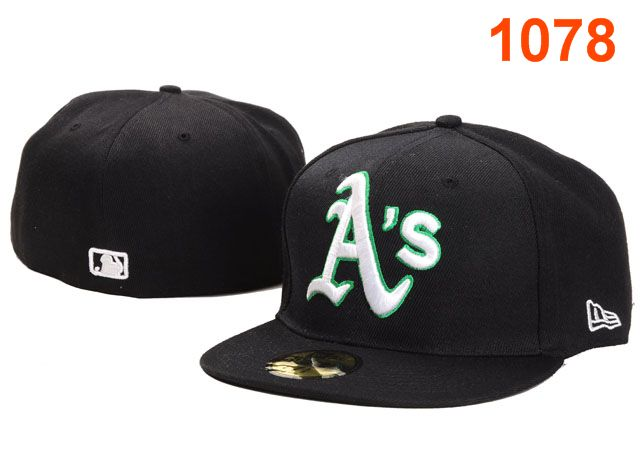 Okaland Athletics MLB Fitted Hat PT17