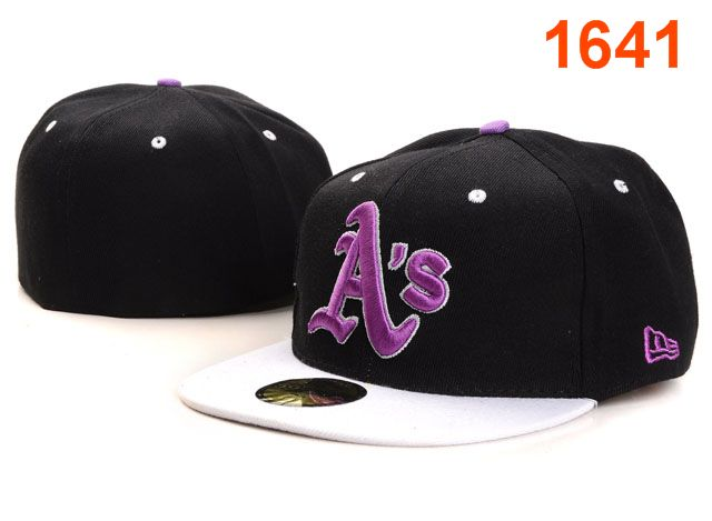 Okaland Athletics MLB Fitted Hat PT18