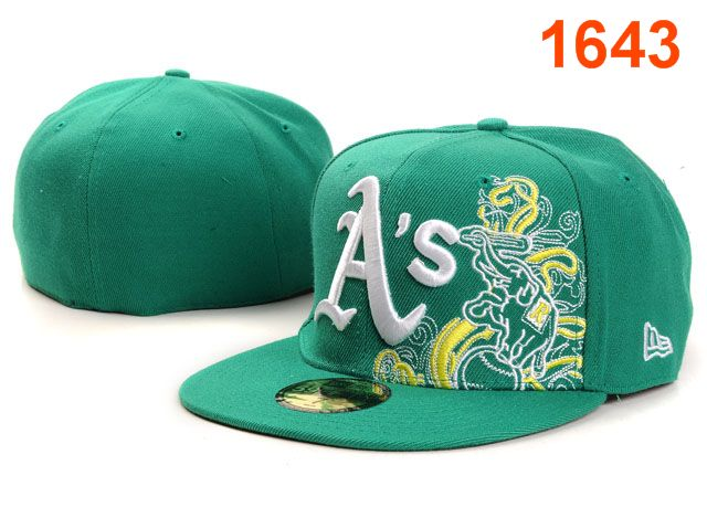 Okaland Athletics MLB Fitted Hat PT19