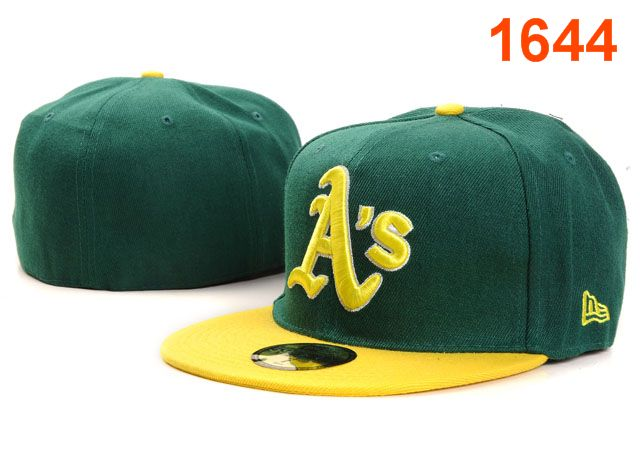Okaland Athletics MLB Fitted Hat PT20