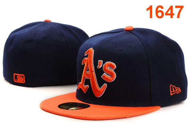 Okaland Athletics MLB Fitted Hat PT22