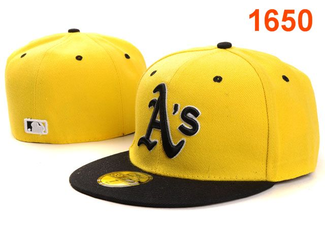 Okaland Athletics MLB Fitted Hat PT23