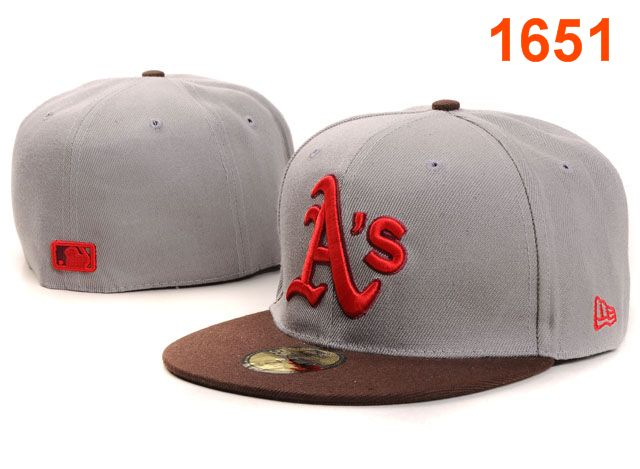 Okaland Athletics MLB Fitted Hat PT24