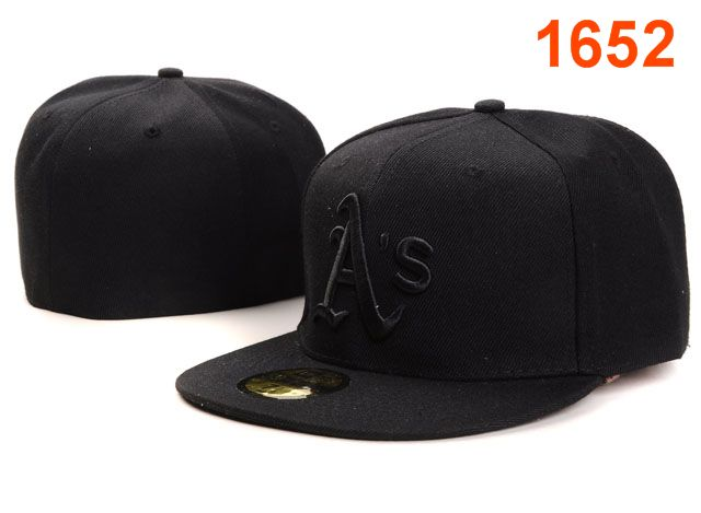 Okaland Athletics MLB Fitted Hat PT25