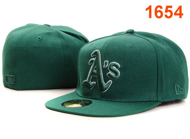 Okaland Athletics MLB Fitted Hat PT26