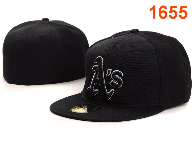 Okaland Athletics MLB Fitted Hat PT27