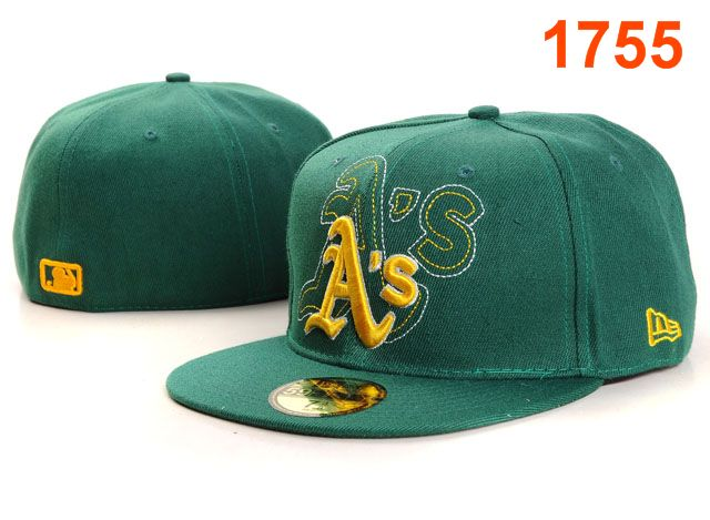 Okaland Athletics MLB Fitted Hat PT31
