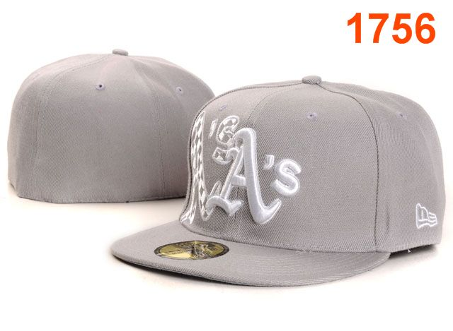 Okaland Athletics MLB Fitted Hat PT32