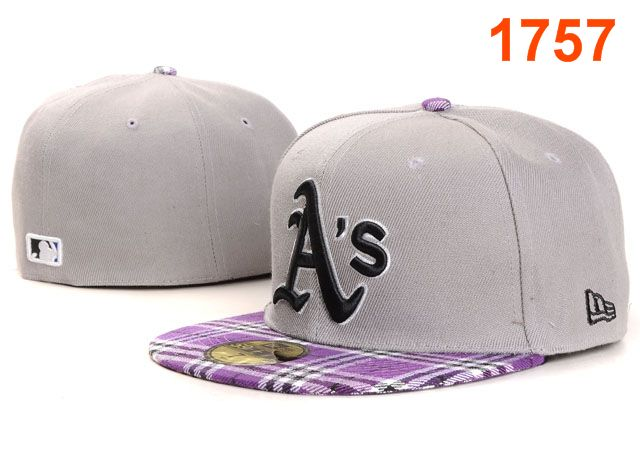 Okaland Athletics MLB Fitted Hat PT33