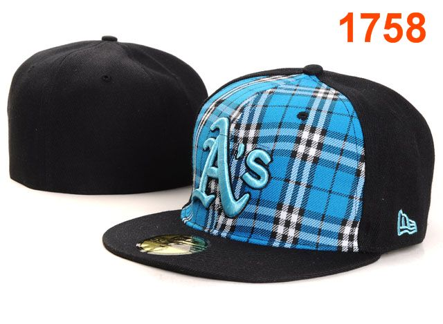Okaland Athletics MLB Fitted Hat PT34