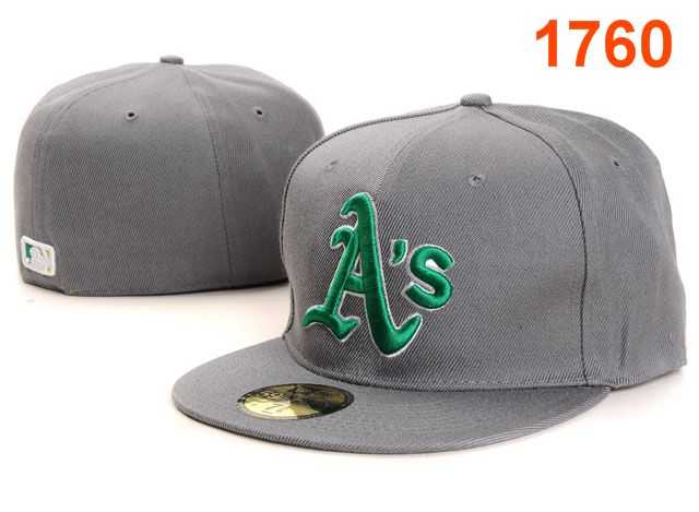 Okaland Athletics MLB Fitted Hat PT36