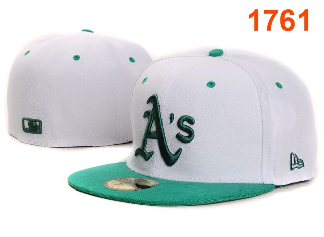 Okaland Athletics MLB Fitted Hat PT37