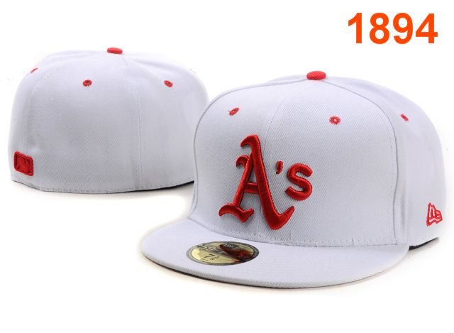 Okaland Athletics MLB Fitted Hat PT38