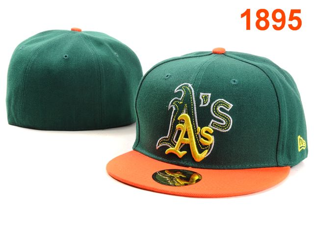 Okaland Athletics MLB Fitted Hat PT39