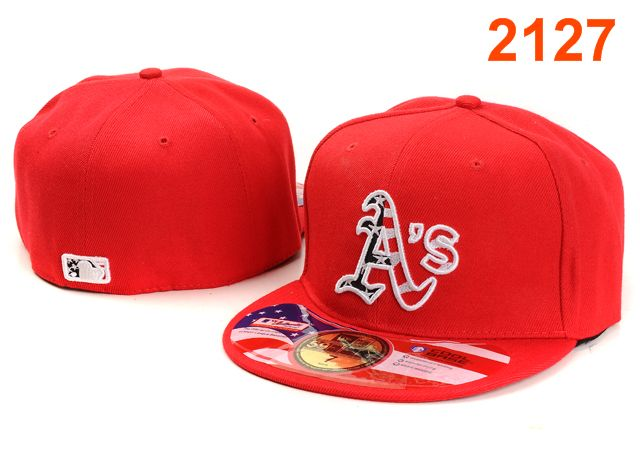 Okaland Athletics MLB Fitted Hat PT42