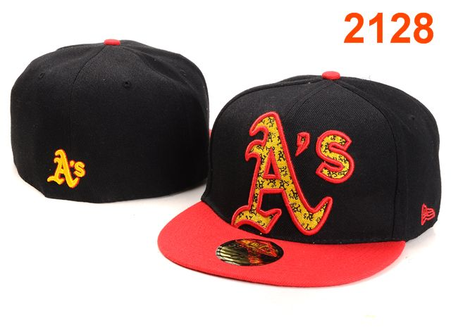 Okaland Athletics MLB Fitted Hat PT43