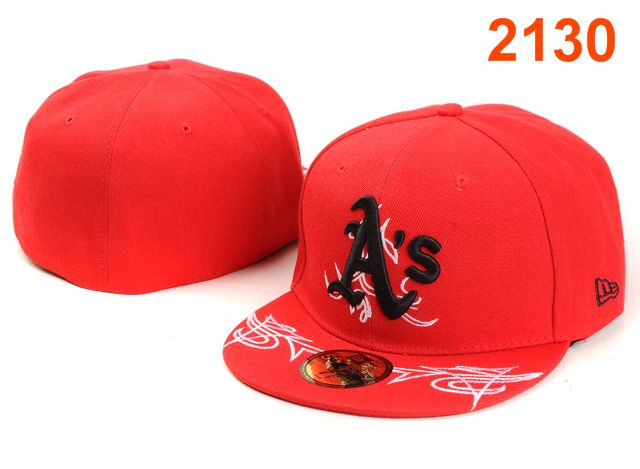 Okaland Athletics MLB Fitted Hat PT44