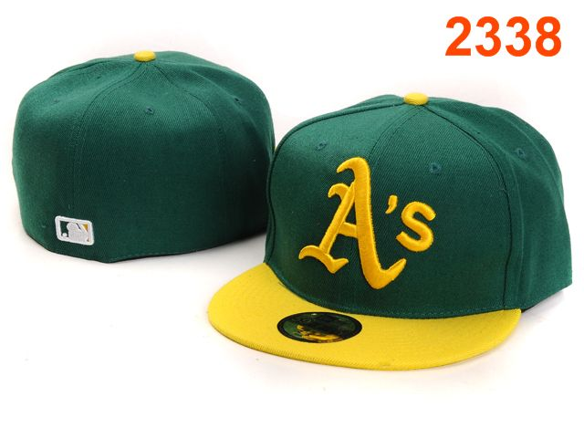 Okaland Athletics MLB Fitted Hat PT47