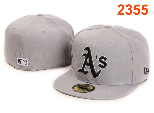 Okaland Athletics MLB Fitted Hat PT48