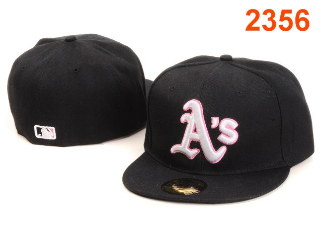 Okaland Athletics MLB Fitted Hat PT49