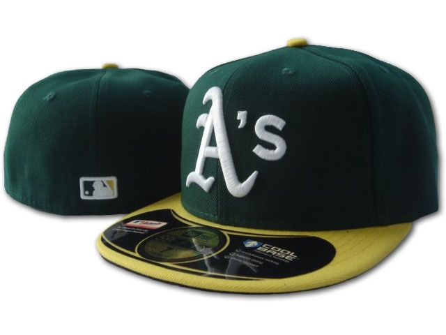 Okaland Athletics MLB Fitted Hat sf1