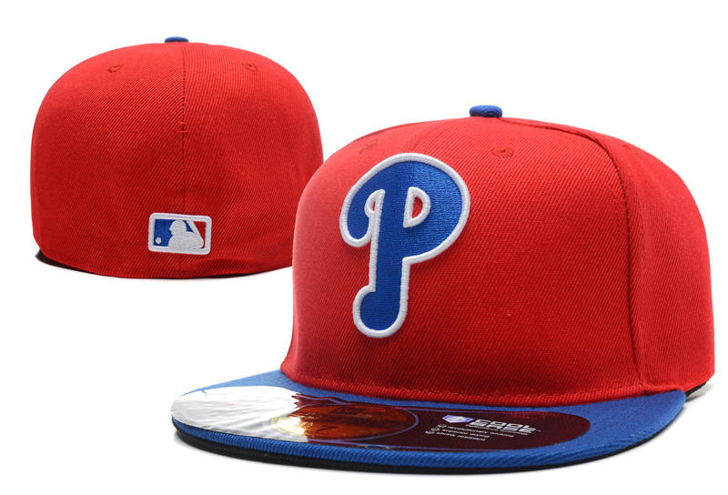 Philadelphia Phillies Red Fitted Hat LX 0701