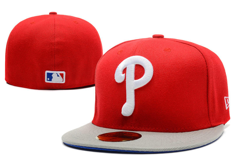 Philadelphia Phillies Red Fitted Hat LX 0721