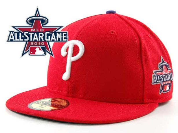 Philadelphia Phillies 2010 MLB All Star Fitted Hat Sf18