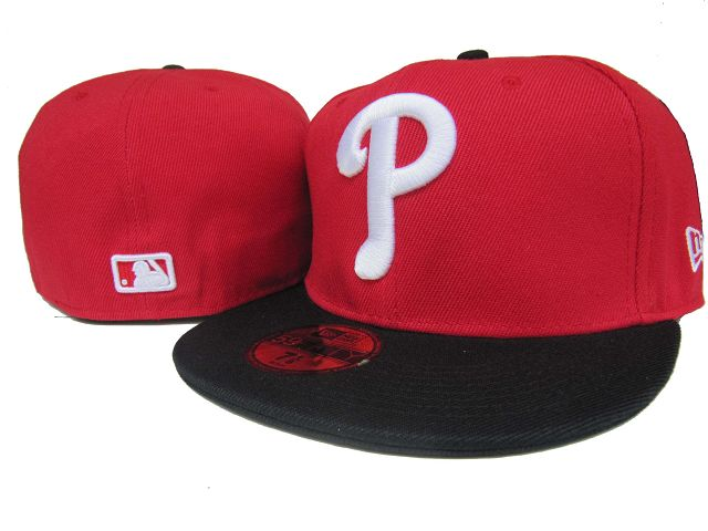 Philadelphia Phillies MLB Fitted Hat LX01