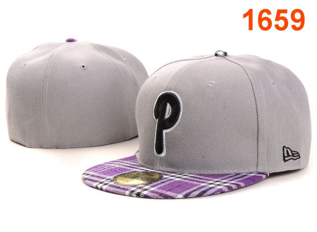 Philadelphia Phillies MLB Fitted Hat PT01