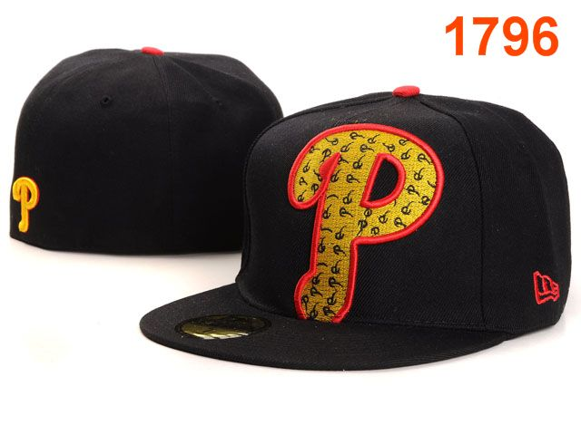 Philadelphia Phillies MLB Fitted Hat PT06