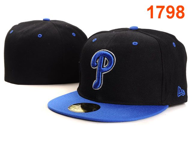 Philadelphia Phillies MLB Fitted Hat PT08