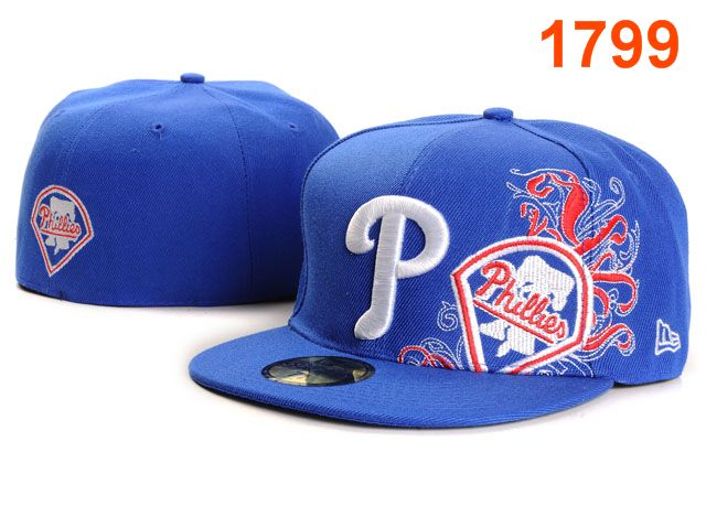 Philadelphia Phillies MLB Fitted Hat PT09