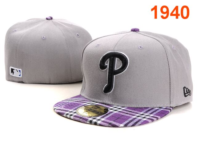 Philadelphia Phillies MLB Fitted Hat PT18