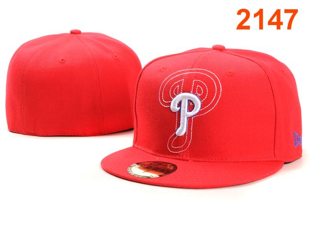 Philadelphia Phillies MLB Fitted Hat PT21