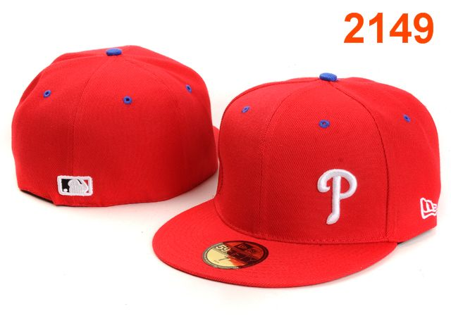 Philadelphia Phillies MLB Fitted Hat PT22